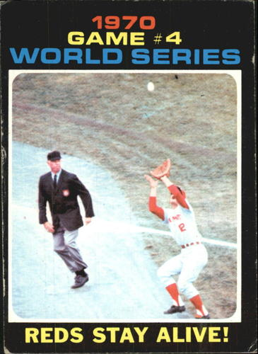 Photo of 1971 Topps #330 World Series Game 4/Reds Stay Alive