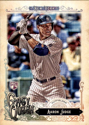 Photo of 2017 Topps Gypsy Queen #168A Aaron Judge Rookie Card