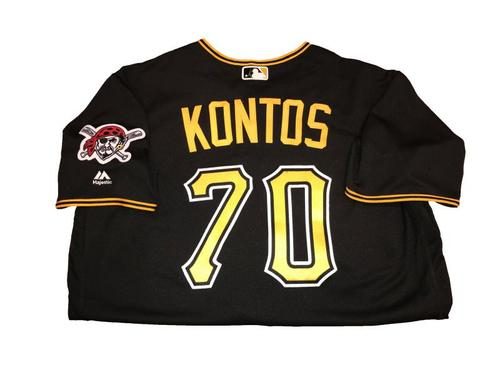 George Kontos Team-Issued Black Alternate Jersey