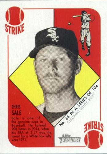 Photo of 2015 Topps Heritage '51 Collection #66 Chris Sale