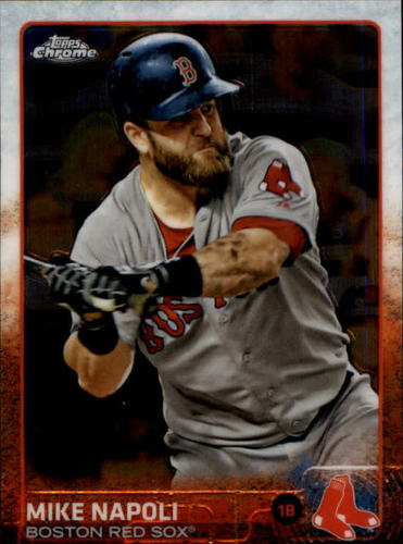 Photo of 2015 Topps Chrome #150 Mike Napoli