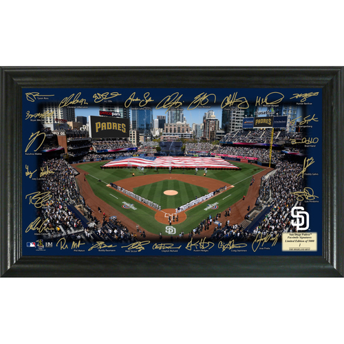 Photo of Serial #1! San Diego Padres 2018 Signature Field