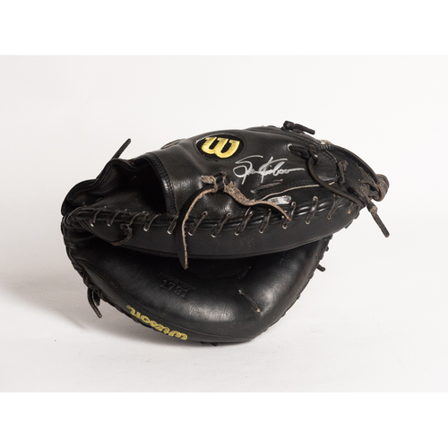 Photo of Autographed Spencer Kieboom Glove - Winning Bidder Can Pick Up Items Directly From Spencer on September 24, 2018