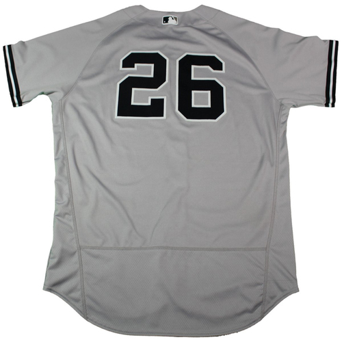 Photo of Tyler Austin New York Yankees 2018 Road Opening Day Game Used #26 Jersey (3/29/2018)