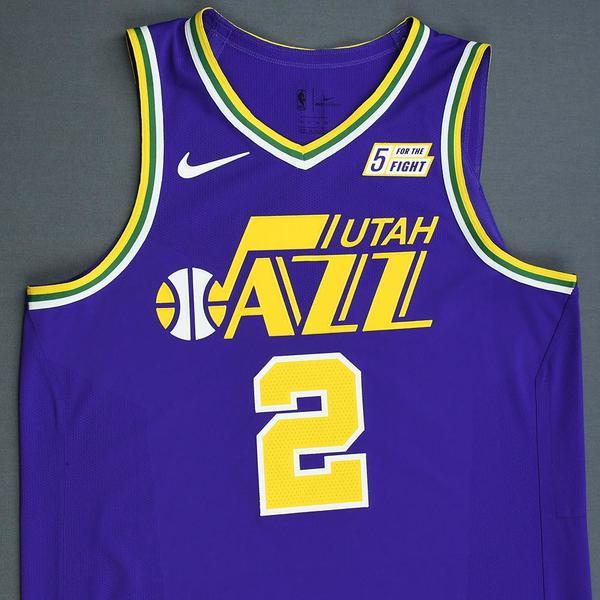 hot sale online 252c5 f808a Joe Ingles - Utah Jazz - Game-Worn 1st Half Classic Edition ...