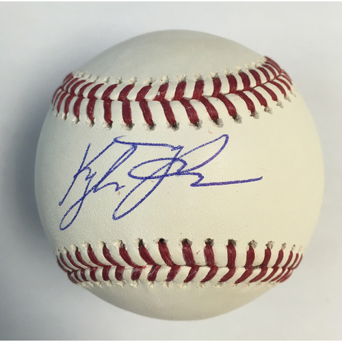 Kyle Tucker Autographed Baseball