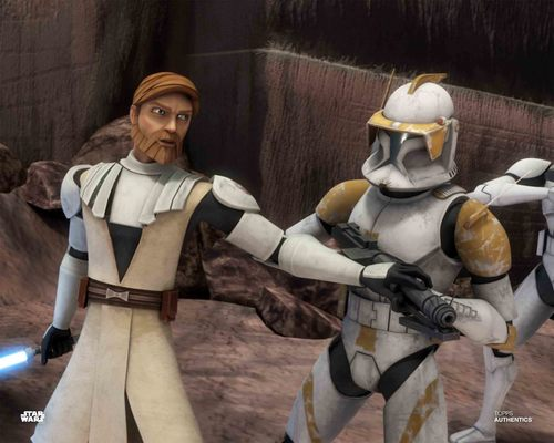 Obi-Wan Kenobi and Commander Cody
