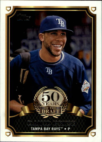 Photo of 2014 Topps 50 Years of the Draft #50YD3 David Price