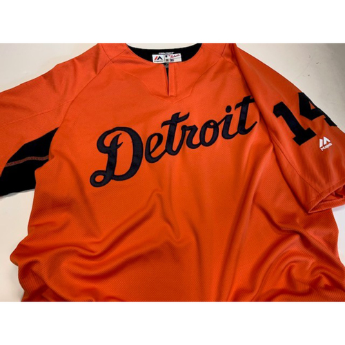 Photo of Team-Issued Road Batting Practice Jersey: #14