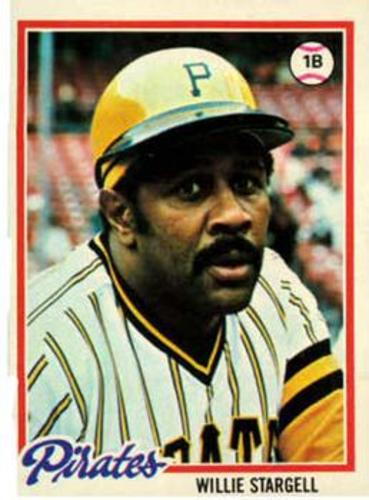 Photo of 1978 Topps #510 Willie Stargell