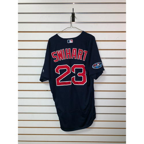 Blake Swihart Game Used September 21, 2018 Road Alternate Jersey