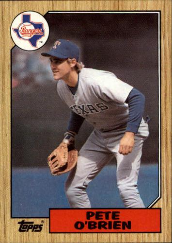 Photo of 1987 Topps #17 Pete O'Brien