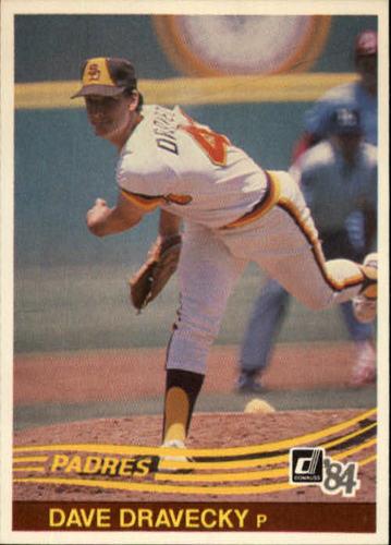 Photo of 1984 Donruss #551 Dave Dravecky