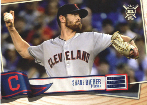 Photo of 2019 Topps Big League #283 Shane Bieber