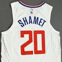 Landry Shamet - Los Angeles Clippers - Game-Worn Association Edition Jersey - NBA Canada Series - 2019-20 NBA Preseason