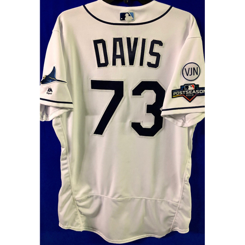 Photo of Team Issued 2019 Postseason Jersey: Johnny Davis