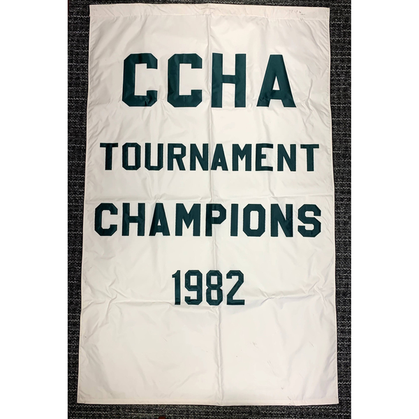 Photo of 1982 CCHA Tournament Champions Banner