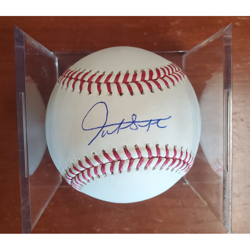 Photo of Autographed Baseball - Giancarlo Stanton