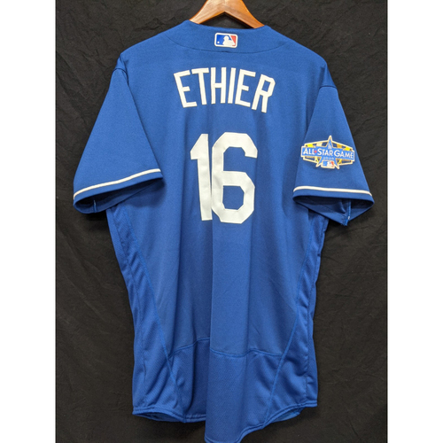 Photo of Andre Ethier Team-Issued 2020 Spring Training Jersey with the 2020 All Star Patch