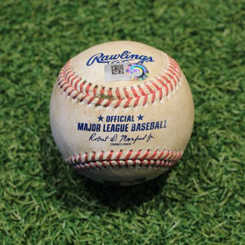 Photo of Game-Used Baseball: Adam Engel 223rd Career Hit (CWS @ KC 9/3/20)