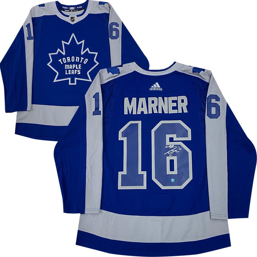 Mitch Marner Autographed Toronto Maple Leafs adidas Reverse Retro Jersey