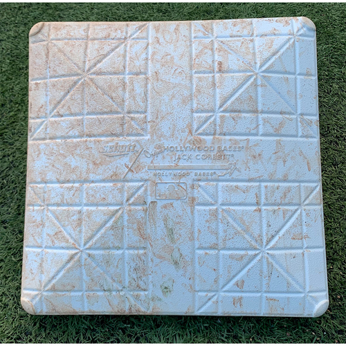 Photo of Game Used Base - 1st Base, Innings 1-3 - Lindor and Rich Hill Singles - Mets vs. Phillies - 9/19/21