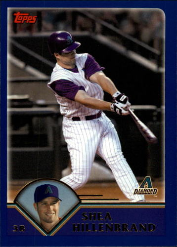 Photo of 2003 Topps Traded #T84 Shea Hillenbrand