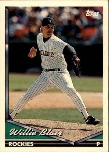 Photo of 1994 Topps #439 Willie Blair