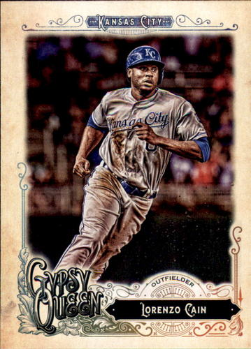 Photo of 2017 Topps Gypsy Queen #219A Lorenzo Cain