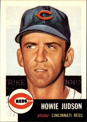 Photo of 1991 Topps Archives 1953 #12 Howie Judson