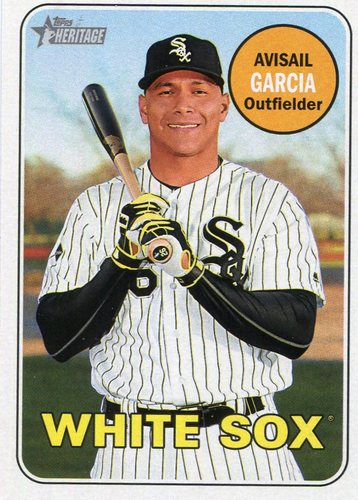 Photo of 2018 Topps Heritage #328 Avisail Garcia