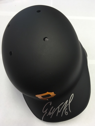 Photo of Starling Marte Autographed Pirates Batting Helmet