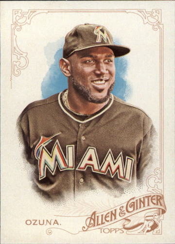 Photo of 2015 Topps Allen and Ginter #184 Marcell Ozuna