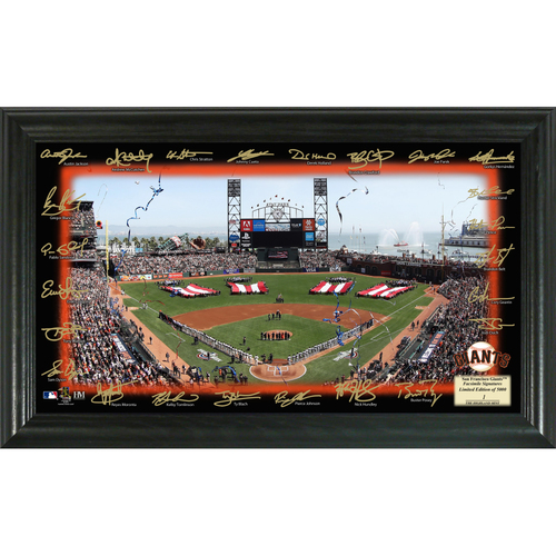 Photo of Serial #1! San Francisco Giants 2018 Signature Field