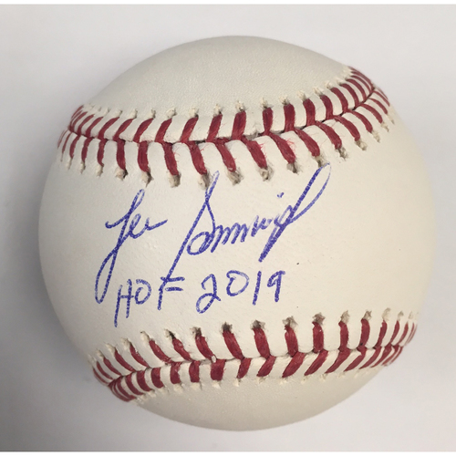 "Photo of Lee Smith ""HOF 2019"" Autographed Baseball"