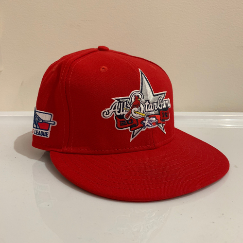 Photo of 2016 Texas League All Star Game -  Game Used Cap  - Caleb Dirks (Atlanta Braves) Size - 7 -1/8