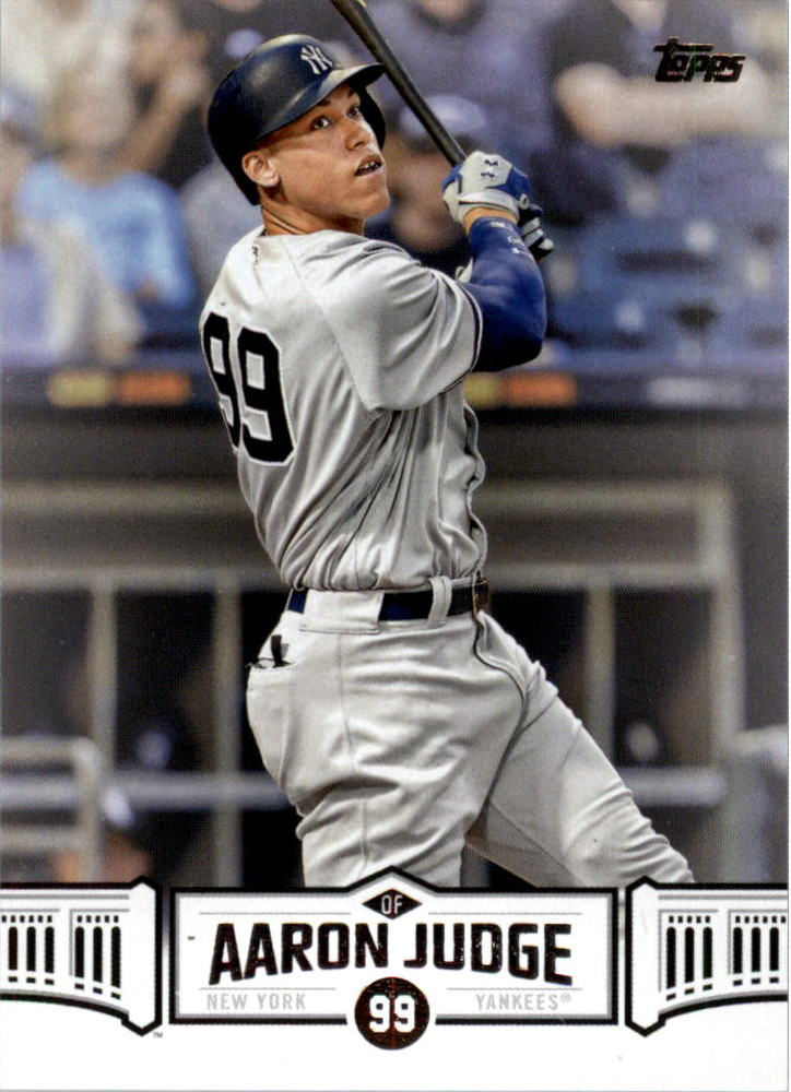 2018 Topps Aaron Judge Highlights #AJ10 Aaron Judge