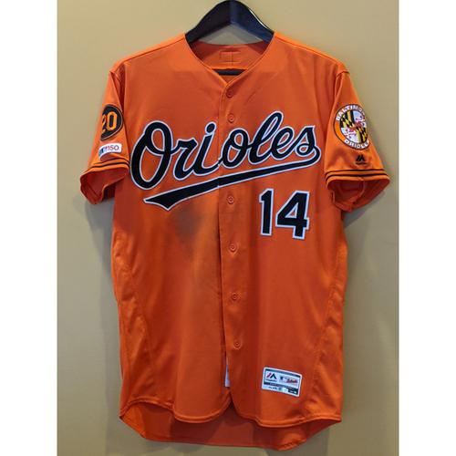 Photo of Rio Ruiz - Orange Alternate Jersey: Game-Used