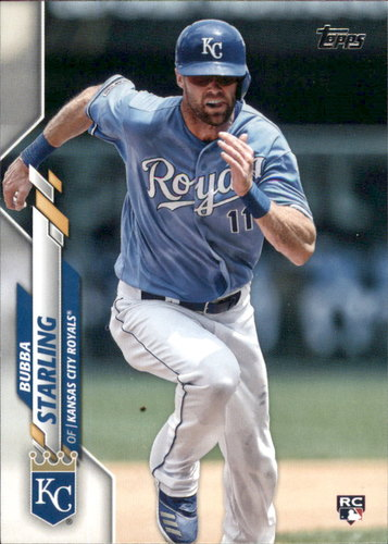 Photo of 2020 Topps #74 Bubba Starling RC
