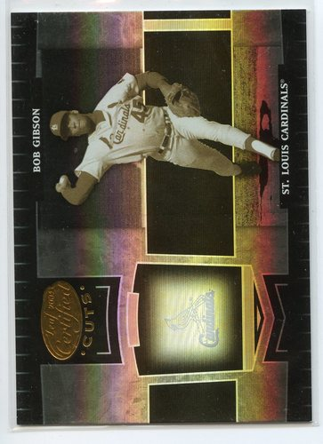 Photo of 2004 Leaf Certified Cuts #247 Bob Gibson LGD