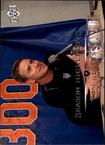 Photo of 2008 Upper Deck #399 Tom Glavine HL