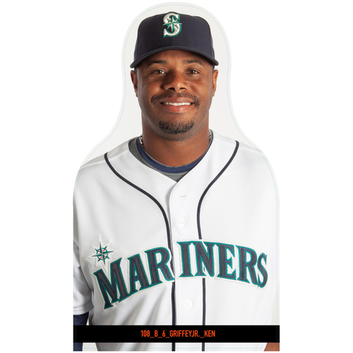 Giants Community Fund: Giants Seattle Mariners Cutouts (Not MLB Authenticated, COA Included)