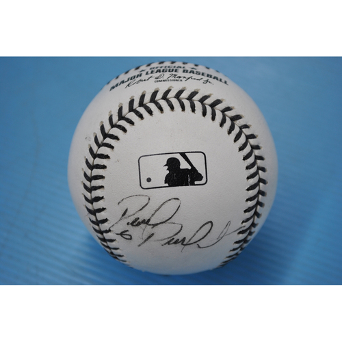 Photo of 2020 MLB Black Lives Matter Commemorative Ball - Autographed by David Peralta