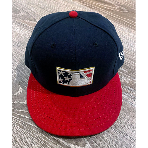 Photo of UMPS CARE AUCTION: Official Specialty MLB Stars and Stripes Umpire Cap, Size 7 1/8