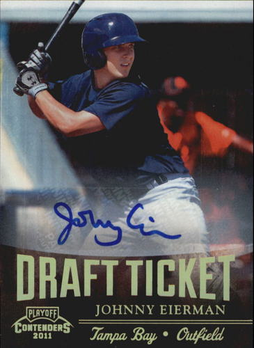 Photo of 2011 Playoff Contenders Draft Ticket Autographs #DT72 Johnny Eierman