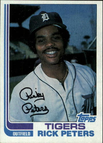 Photo of 1982 Topps #504 Rick Peters