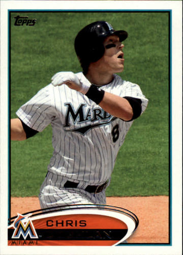 Photo of 2012 Topps #222 Chris Coghlan