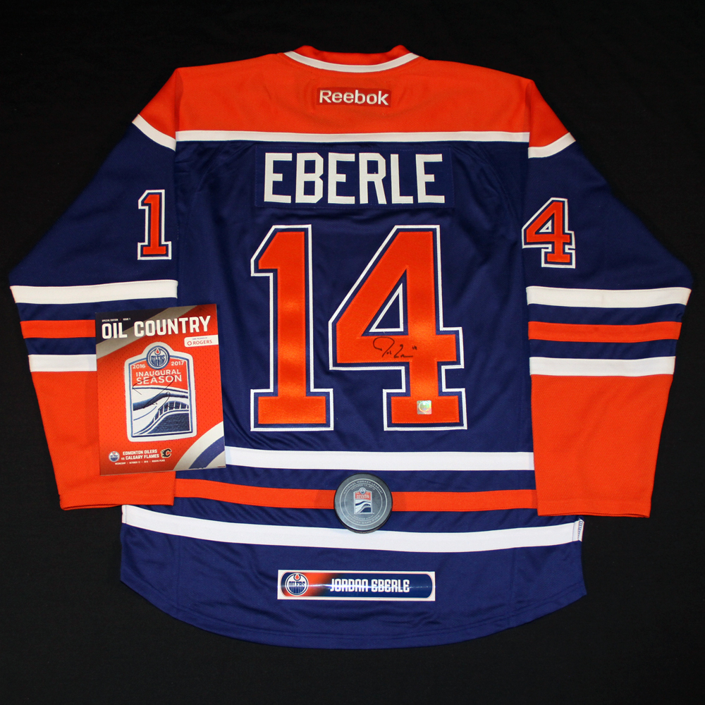 cheaper 12662 eb9e6 Jordan Eberle #14 - Ultimate Fan Autographed Memorabilia ...