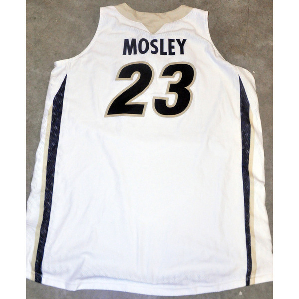 Photo of Black Mesh Women's Basketball Jersey // No. 23 Keshia Mosley