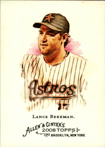 Photo of 2008 Topps Allen and Ginter #270 Lance Berkman